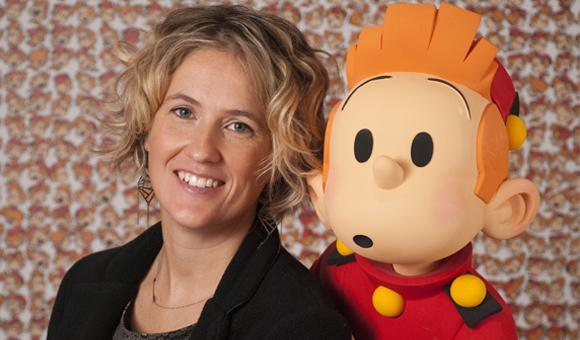 Florence Mixhel is the new editor-in-chief of Spirou