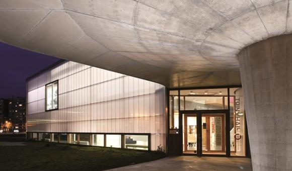 Archicture-Muriel Thies-Trinkhall museum