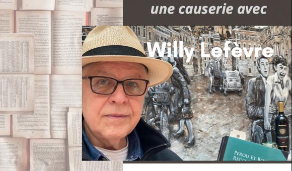 Annonce de l'interview de M. Willy Lefèvre par Guy O. Vanackeren