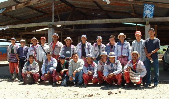 Groupe de Todos Santos - Coopérative Guayab au Guatemala