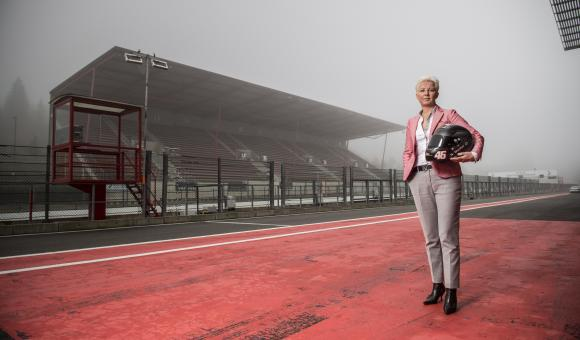 Nathalie Maillet is the new director of Spa-Francorchamps racing circuit