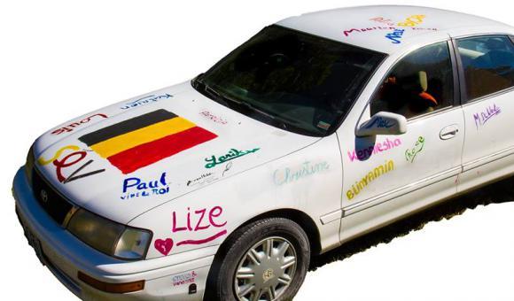 Belgians in America - SignMyCar! Tour