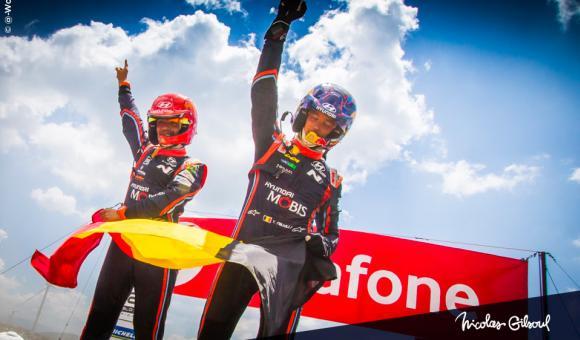 Victoire au Rallye du Portugal