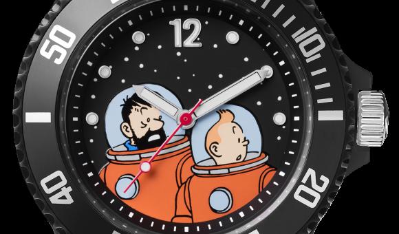 Tintin Lune Haddock