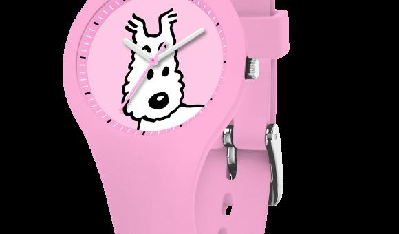 Tintin Milou Pink