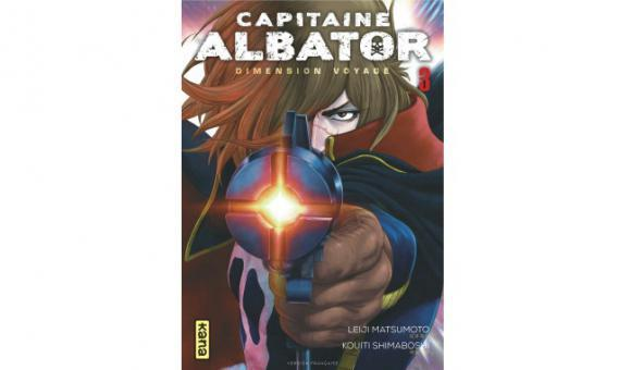 Capitaine Albator Dimension Voyage tome 3 Scenario : Leiji Matsumoto
