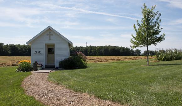 Roadside Chapel in Wisconsin