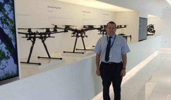 Drone Valley en visite chez DJI - Constructeur de drones