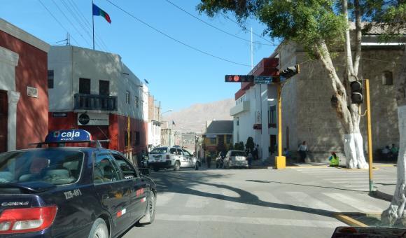 vue de ruelle de Moquegua