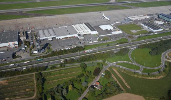 Liege Airport in Wallonia
