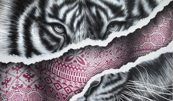 "Artwork ""Fuchsia"" from NOIR"