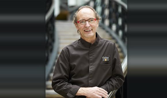 In the spotlight: Jean Galler, the Liege chocolate maestro.