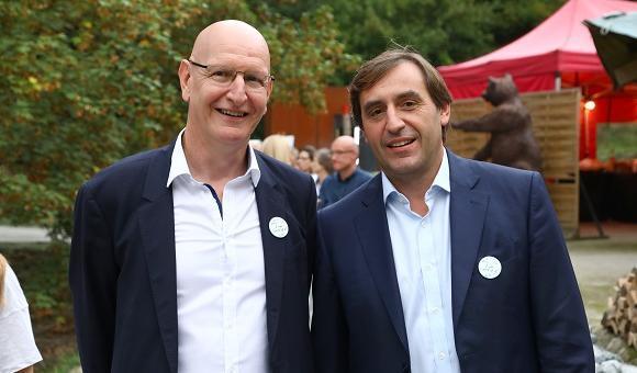 Wilfried NIESSEN, Directeur général & Doyen de HEC Liège et Bernard DELVAUX, Président du Conseil de Gouvernance de HEC Liège
