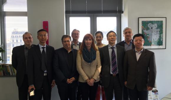 ZenTech et son partenaire chinois reçus à l'Agence wallonne à l'Exportation et aux Investissements étrangers à Bruxelles.