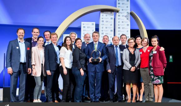 Water company Spadel wins Enterprise of the Year award