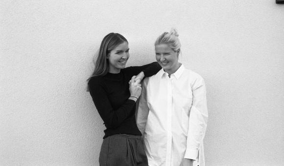 Aude and Astrid Regout, from Rue Blanche