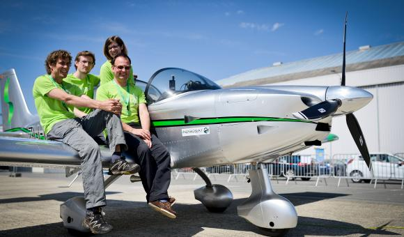 Sonaca launches new light aircraft venture