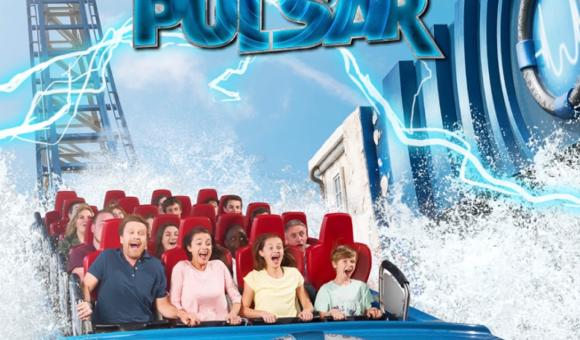 Pulsar: meilleure attraction aquatique 2017