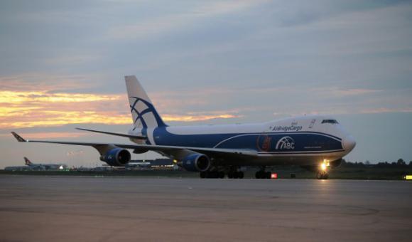 AirBridgeCargo's plane ©RTC