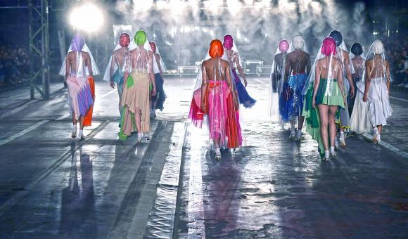 La Cambre Modes[s] 2019 - 1st year © catwalkpictures