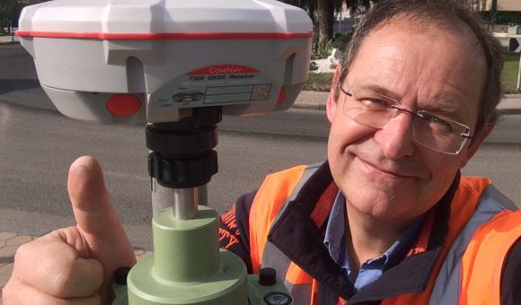 CGEOS est la seule et l'unique société wallonne experte en GNSS de haute précision