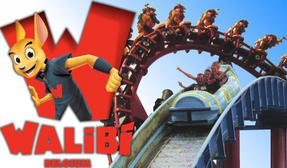 Walibi sacré meilleur parc d'attractions de Belgique et de Hollande