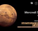 Conférence Habitabilité de Mars (c) DGWB Paris