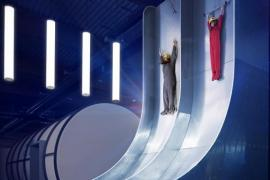 Le Free Fall Slide (c) Euro Space Center - dbcreation