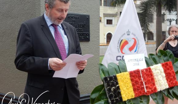 Allocution de S.E. Koenraad LENAERTS Ambassadeur de Belgique au Pérou