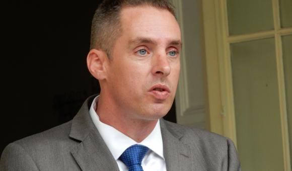 The Minister-President of the Government of Flanders, Geert Bourgeois
