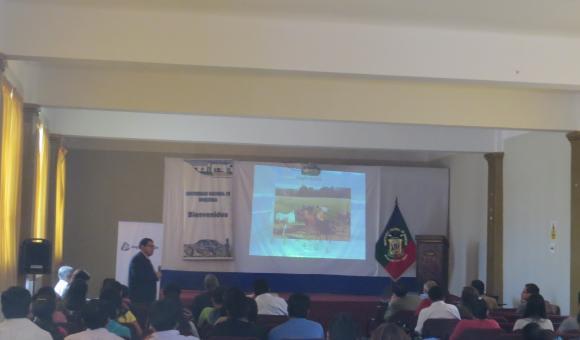 Lectures at Moquegua's University
