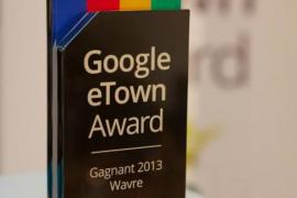 eTown award: Gagnant 2013, Wavre!