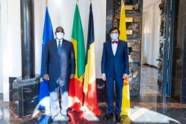 His Excellency, Macky Sall, President of Senegal and the Minister-President of Wallonia, Elio Di Rupo